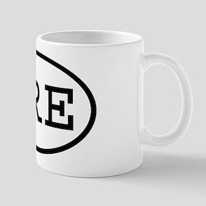 GRE Oval Mug