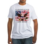 Cruising San Diego Fitted T-Shirt