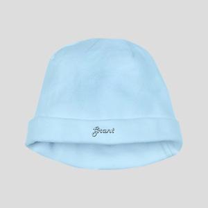 Grant surname classic design baby hat