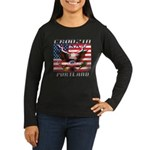Cruising Portland Women's Long Sleeve Dark T-Shirt