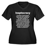 Ineptocracy Plus Size T-Shirt