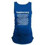 Ineptocracy Maternity Tank Top