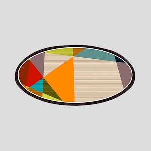 Mid Century Modern Geometric Patch