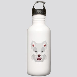 Illustration dogs face Stainless Water Bottle 1.0L