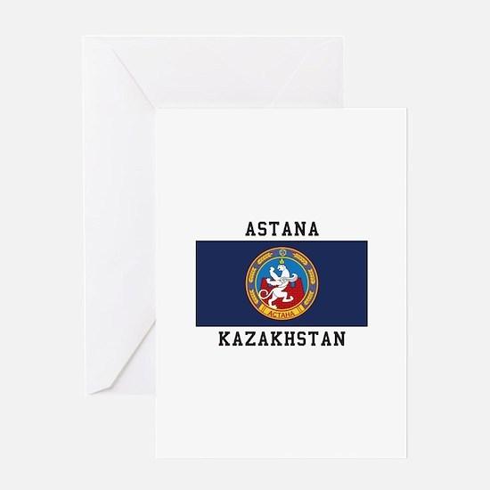 Astana, Kazakhstan Greeting Cards