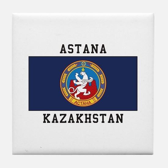 Astana, Kazakhstan Tile Coaster