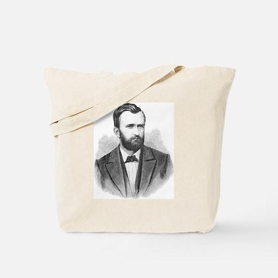 Ulysses S. Grant Illustrative Portrait Tote Bag