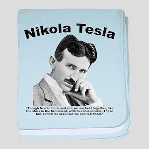 Tesla: Inseparable baby blanket