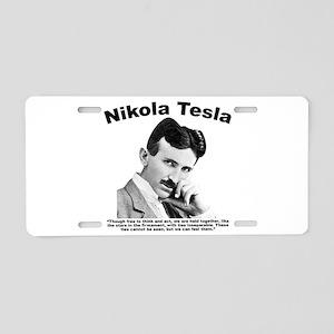 Tesla: Inseparable Aluminum License Plate