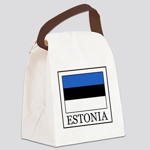 Estonia Canvas Lunch Bag