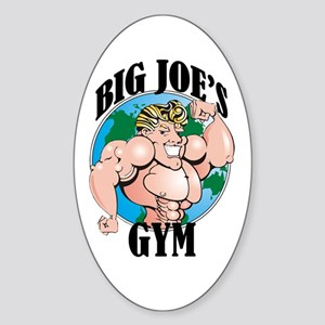 Big Joe's Gym Oval Sticker