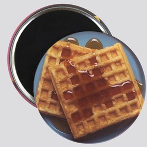 Waffles With Syrup Magnet