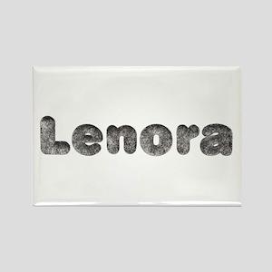 Lenora Wolf Rectangle Magnet