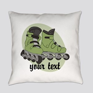 Personalized Rollerblade Everyday Pillow