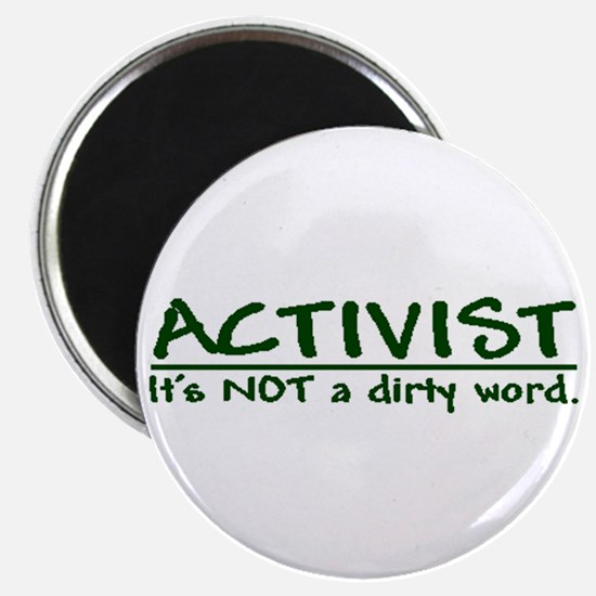 """""""A dirty word"""" Magnet"""