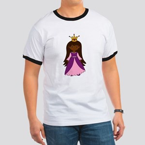 Princess (Dark Skin / Brown Hair) T-Shirt