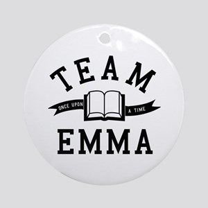 OUAT Team Emma Round Ornament
