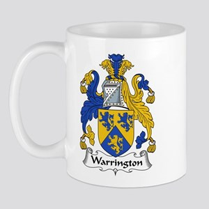 Warrington Family Crest Mug