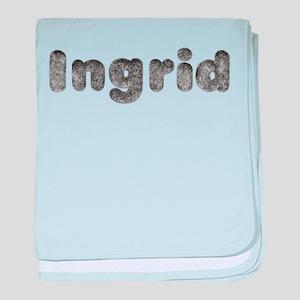 Ingrid Wolf baby blanket