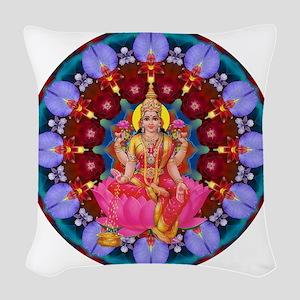 Daily Focus Mandala 4.2.15 Lak Woven Throw Pillow