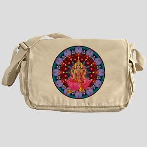 Daily Focus Mandala 4.2.15 Lakshmi Messenger Bag