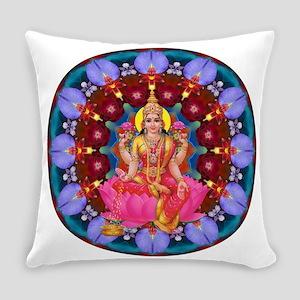 Daily Focus Mandala 4.2.15 Lakshmi Everyday Pillow