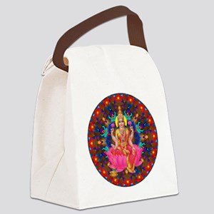 Daily Focus Mandala 4.2.15-C2-Lak Canvas Lunch Bag