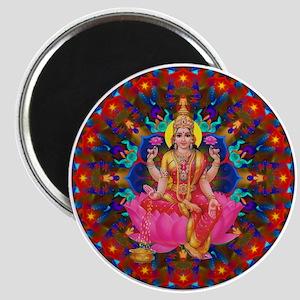 Daily Focus Mandala 4.2.15-C2-Lakshmi Magnet