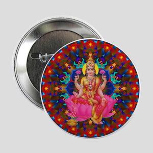 "Daily Focus Mandala 4.2.15-C2-Lakshmi 2.25"" Button"