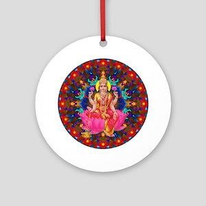 Daily Focus Mandala 4.2.15-C2-Laksh Round Ornament