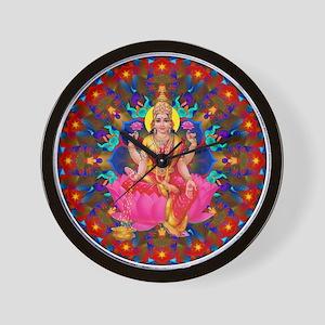 Daily Focus Mandala 4.2.15-C2-Lakshmi Wall Clock