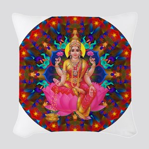 Daily Focus Mandala 4.2.15-C2- Woven Throw Pillow