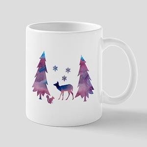 Wintry Mugs