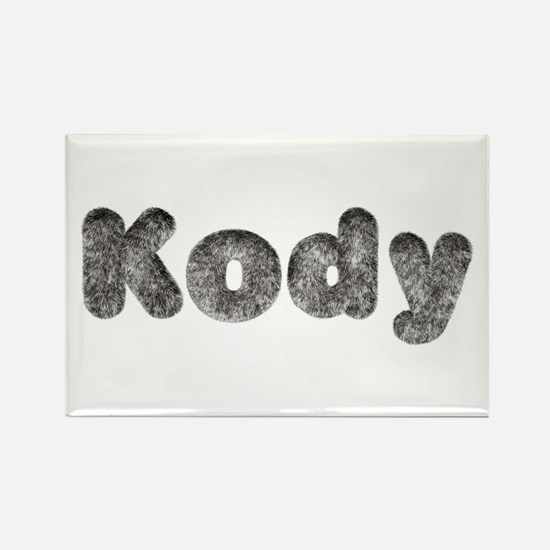 Kody Wolf Rectangle Magnet