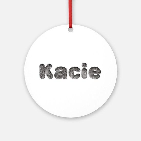 Kacie Wolf Round Ornament