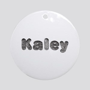 Kaley Wolf Round Ornament