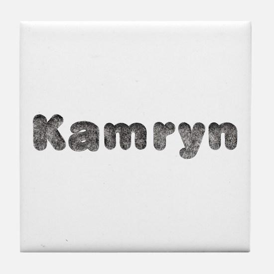 Kamryn Wolf Tile Coaster