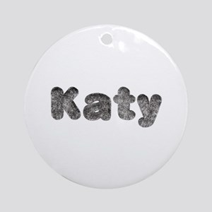 Katy Wolf Round Ornament
