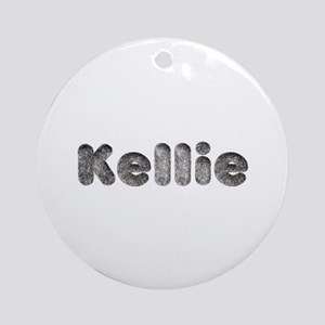 Kellie Wolf Round Ornament