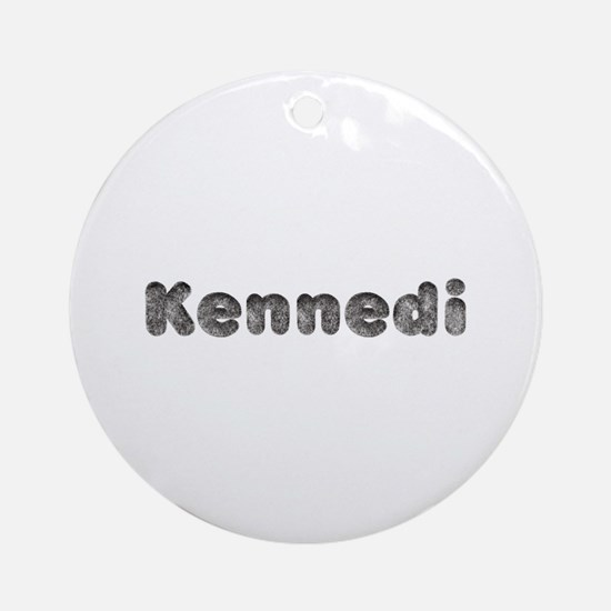 Kennedi Wolf Round Ornament