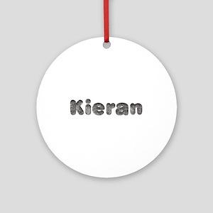 Kieran Wolf Round Ornament