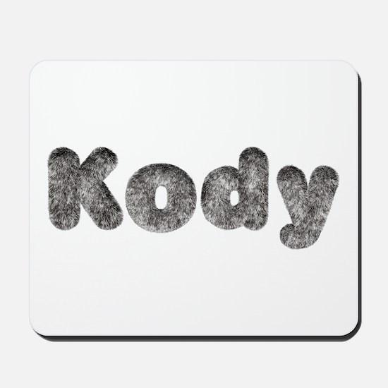 Kody Wolf Mousepad