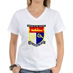 USS Hamul (AD 20) Women's V-Neck T-Shirt