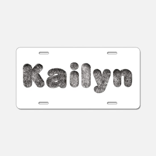 Kailyn Wolf Aluminum License Plate