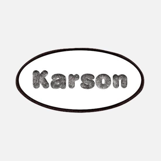 Karson Wolf Patch