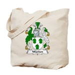 Warden Family Crest Tote Bag