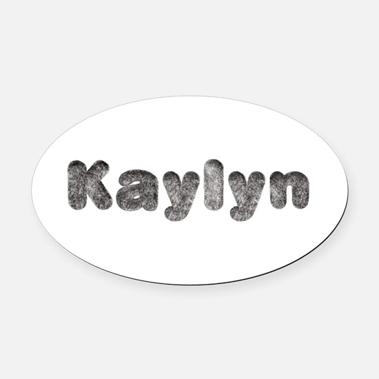 Kaylyn Wolf Oval Car Magnet