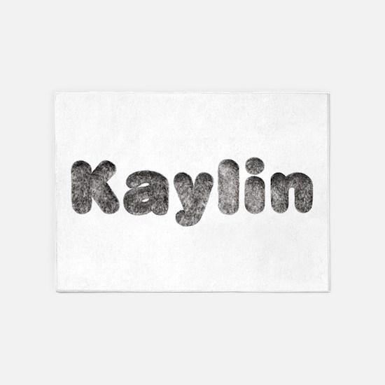 Kaylin Wolf 5'x7' Area Rug