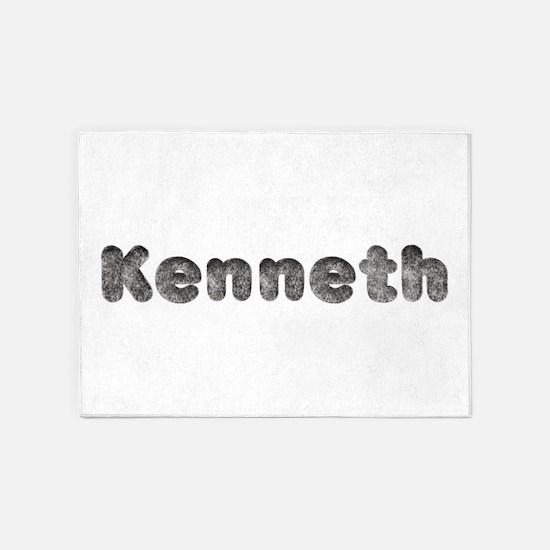 Kenneth Wolf 5'x7' Area Rug
