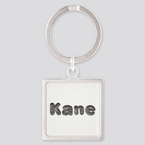 Kane Wolf Square Keychain